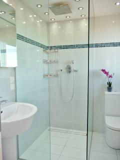 Luxury ensuite shower rooms for each bedroom