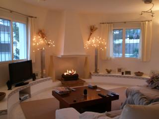 Spacious, Warm Living Area