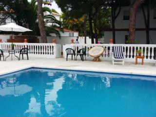 Chalet con piscina en la barrosa 4 dormitorios en Chiclana de la Frontera
