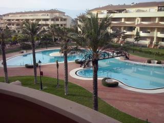 Fantastico apartamento en 1ª linea de playa, Roquetas de Mar