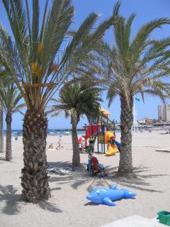 Blue Flag beach, safe for children plus extra fun!