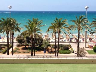 Front sea views.Direct  beach- 4. Playa Palma