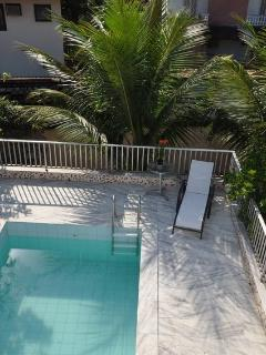 A convenient private pool