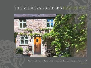 Hideaways In Hay: The Sweetest of Holiday Cottages, Hay-on-Wye