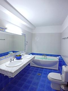 The Baby jacuzzi in the fifth bathroom..
