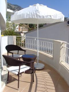 Top balcony
