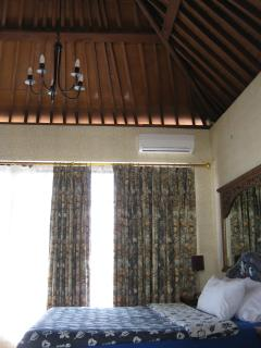 Master  ensuit Bedroom  Bali gazebo stlye with ocean views and  flite take off view