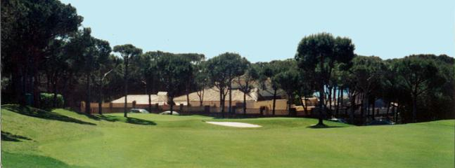 View of the villa from Cabopino Golf Course