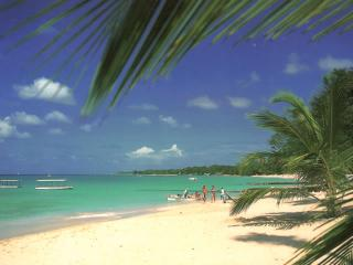 Fabulous white sand beaches just 5 minutes' walk from the apartment