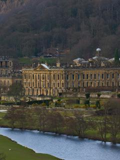 Chatsworth House within 10 mins walking from cottage
