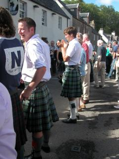 Plockton street party