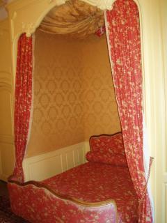 Suite Anne d'Autriche- Lit et alcove