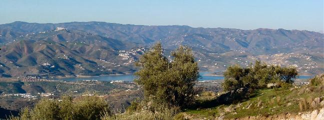 View of Lake Vinuela