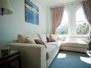 River House, Tripadvisor Certificate of Excellence winner, living room overlooking the River Dee