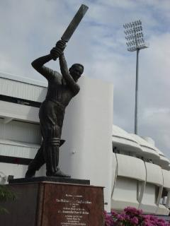 Kensington Oval for a game of Cricket