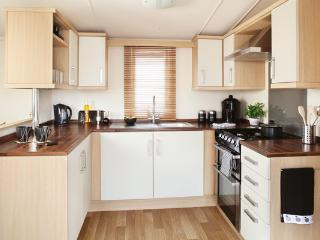 Typical Caravan Kitchen