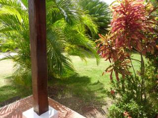 Front garden, Villa Frangipani