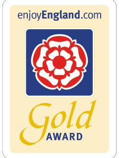 Enjoy England Tourism   Four Star Gold Award self catering accomodation