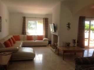 Living Area with Cable TV/DVD