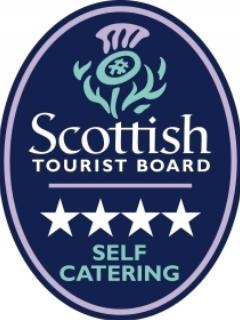 Coach House @ The Glen has been awarded 4* by the Scottish Tourist Board