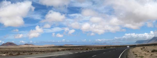 The Road to Famara which is a must for surfers