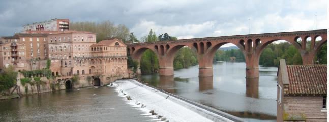 Albi is home to the largest brick built cathedral and a collection of Toulouse Lautrec's art wo