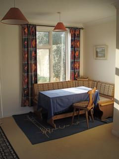 Cosy 'German style' dining area - seats 7