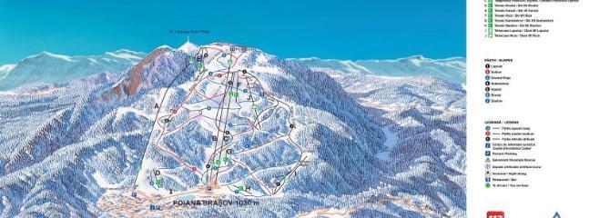 Poiana Brasov - Ski Map