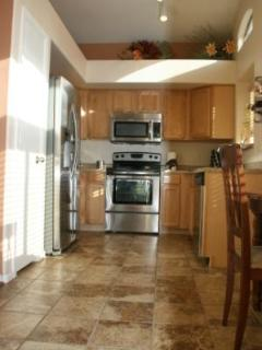 All NEW Stainless Steel Kitchen!