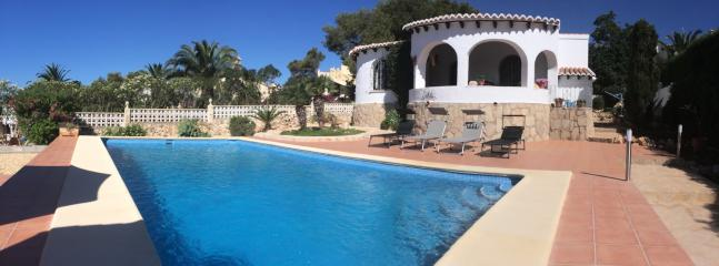 Private villa with large pool and terrace