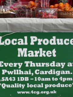 Local produce markets