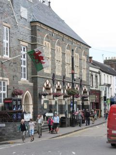 Cardigan Market Town