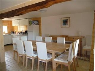 Lovely dining area in which to enjoy the local food
