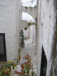 Wandering the Streets of Ostuni