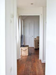 View from long bedroom to Double bedroom through hall