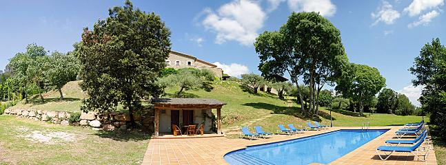 View of house from pool