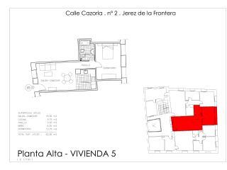 Apartamento 5. CAZORLA BAJA, Jerez De La Frontera