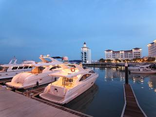 Straits Quay Marina next to the Condo.