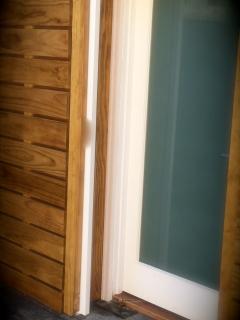 glass door entry