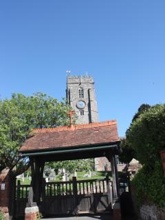The church gates