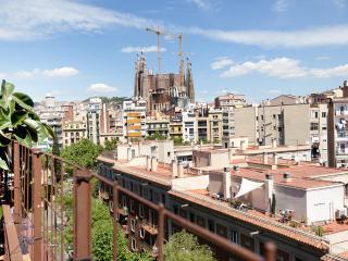 Sagrada Familla terrace for 5, Barcelona