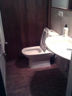 Baño zona garaje/planta baja