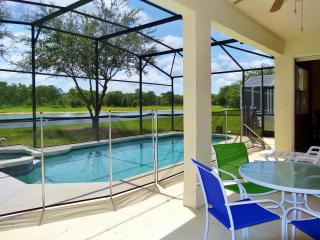 ♥ Orlando Disney 7BR/4BA Lake/Forest View,  Pool/Spa, Game RM, Free WiFi (16849)
