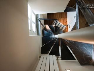 Hand made iron stair