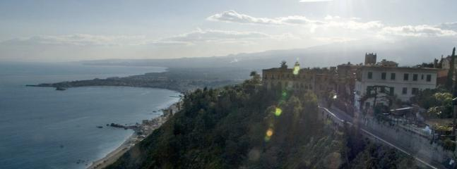 Stunning views from Taormina