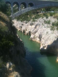 Le Pont du Diable dans la vallée de l'Hérault / The Devil bridge Hérault Valley