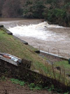 Hydro Electric Power at several weirs up the Gorge