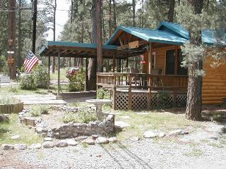 Upper Canyon Retreat - 2 Bed 1 Bath Hot Tub Cabin, Ruidoso