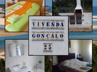 Villa Goncalo perto da Lagoa de Obidos c/WI-FI