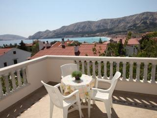 Apartment with Beautiful sea view, Baška